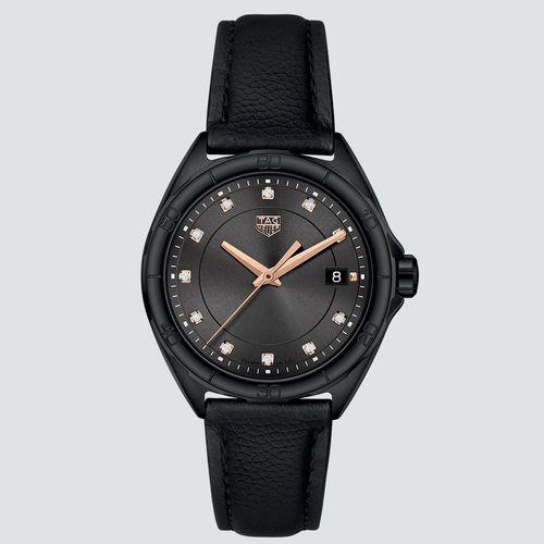TAG Heuer Reloj Formula1 Lady Revestimiento PVD Negro 35mm