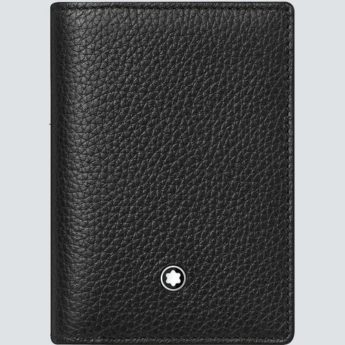 Montblanc Tarjetero Meisterstück Soft Grain Wallet con Compartimento para Billetes