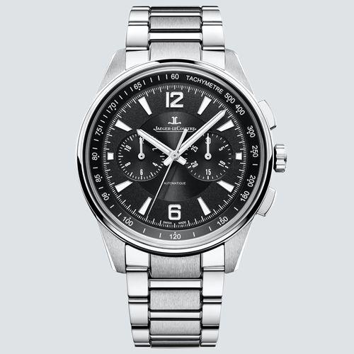 Jaeguer LeCoultre Reloj Polaris Automatic Chronograph Black Dial 42mm