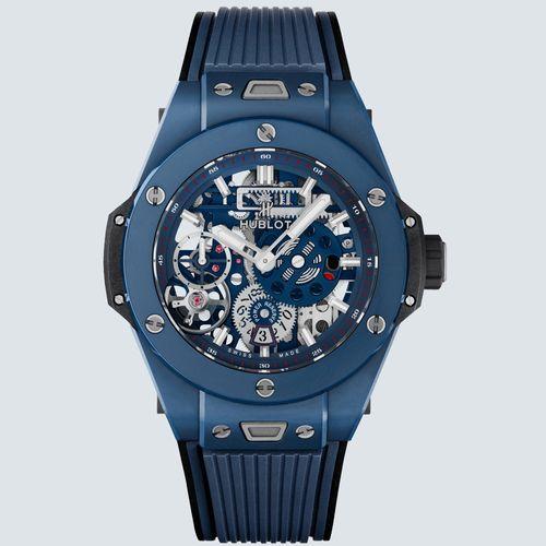 Hublot Reloj BIG BANG MECA-10 CERAMIC BLUE 45mm