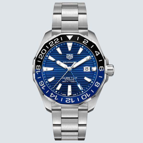TAG Heuer Reloj AQUARACER Automático Dial Azul 43mm