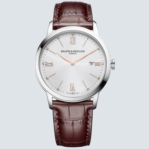 Baume & Mercier Reloj Classima 10415 de Cuarzo con Fecha 42mm