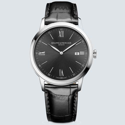 Baume & Mercier Reloj Classima 10416 de Cuarzo Fecha 42mm