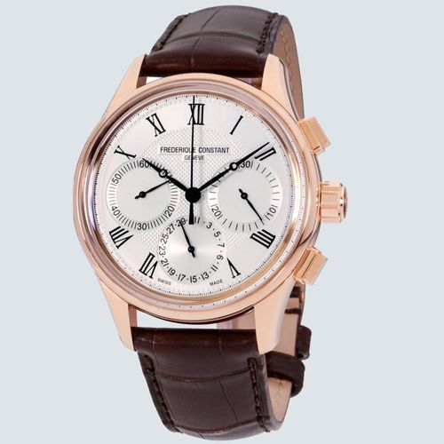Frederique Constant Reloj Flyback Chronograph Manufacture 42mm