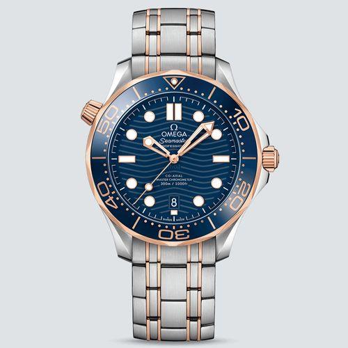 Omega Reloj Seamaster Diver 300m Co‑Axial Master Chronometer Acero y Oro Sedna 42mm