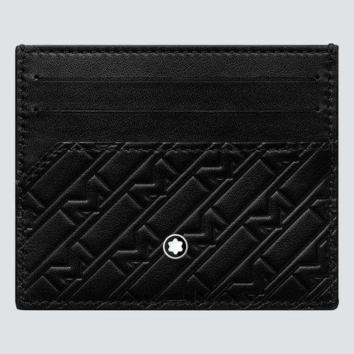 Montblanc Tarjetero M_Gram 4810 Ultrablack 6 tarjetas
