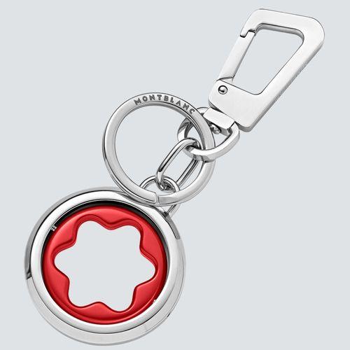 Montblanc Llavero Meisterstück Spinning Emblem Rojo